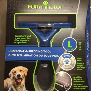 NWT Furminator brush long hair dogs